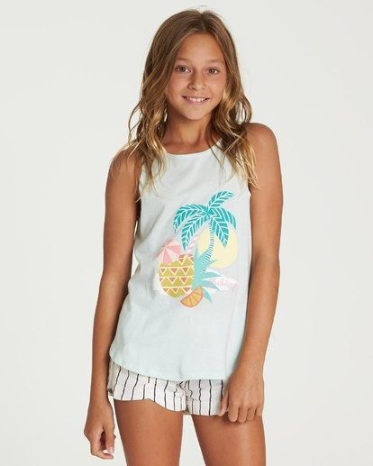 VACATION PINEAPPLE TANK-1
