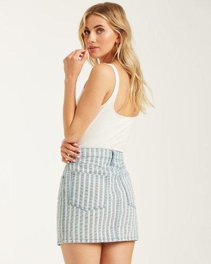 Cute As Indigo Skirt-2