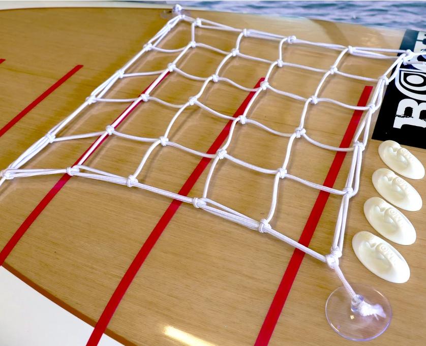 Vamo Universal Deck Netting Kit - Black-2