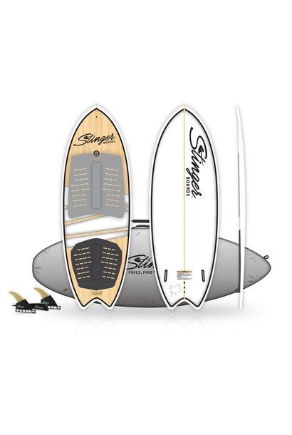 """Wake Surf Fish 4'11"""""""