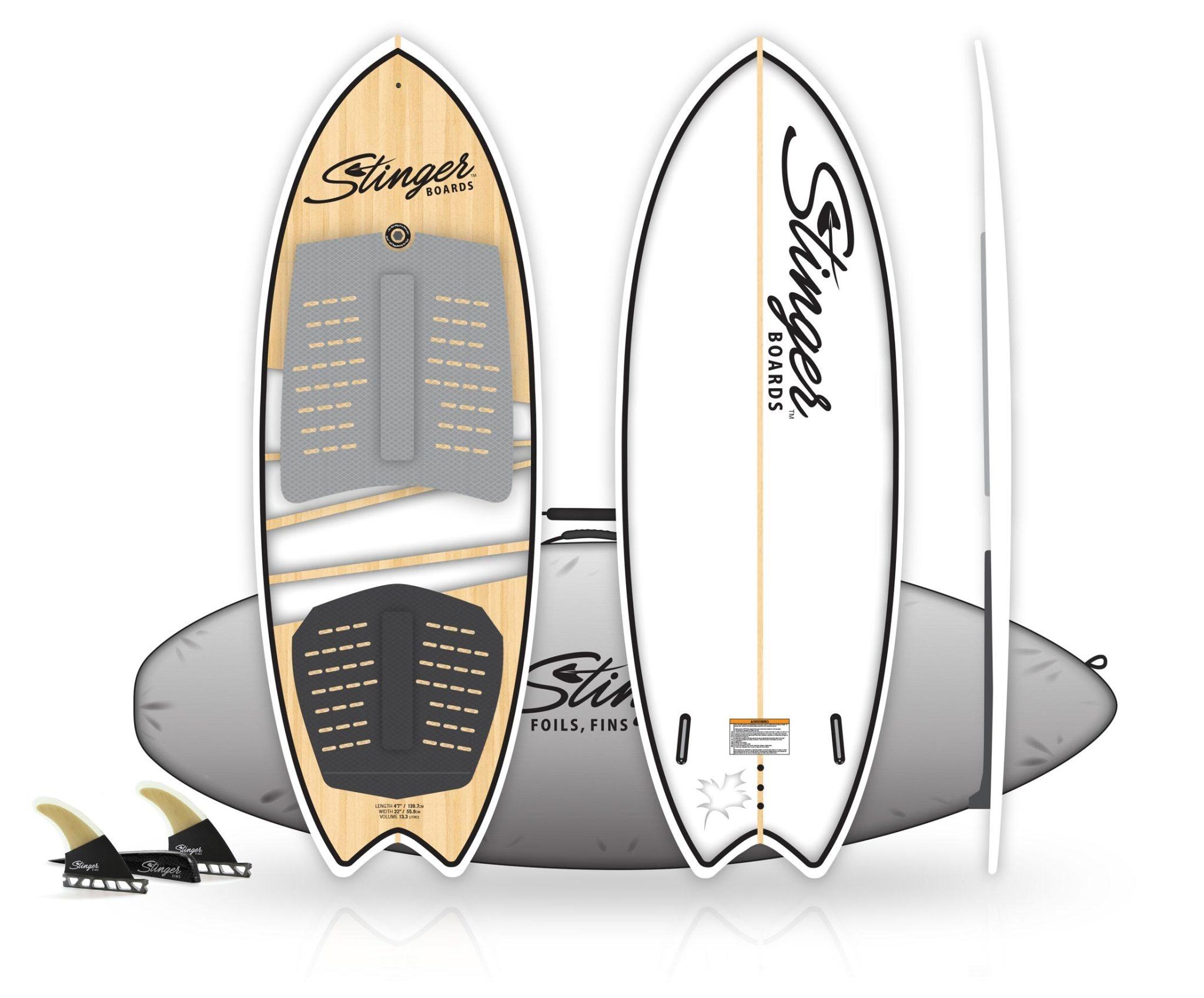 """Wake Surf Fish 4'11""""-1"""