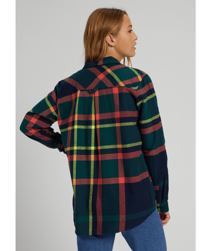 Grace Long Sleeve Flannel-1
