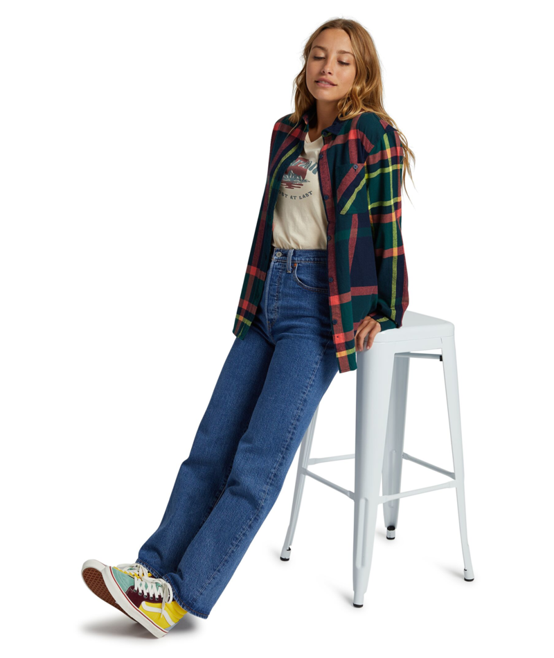 Grace Long Sleeve Flannel-4