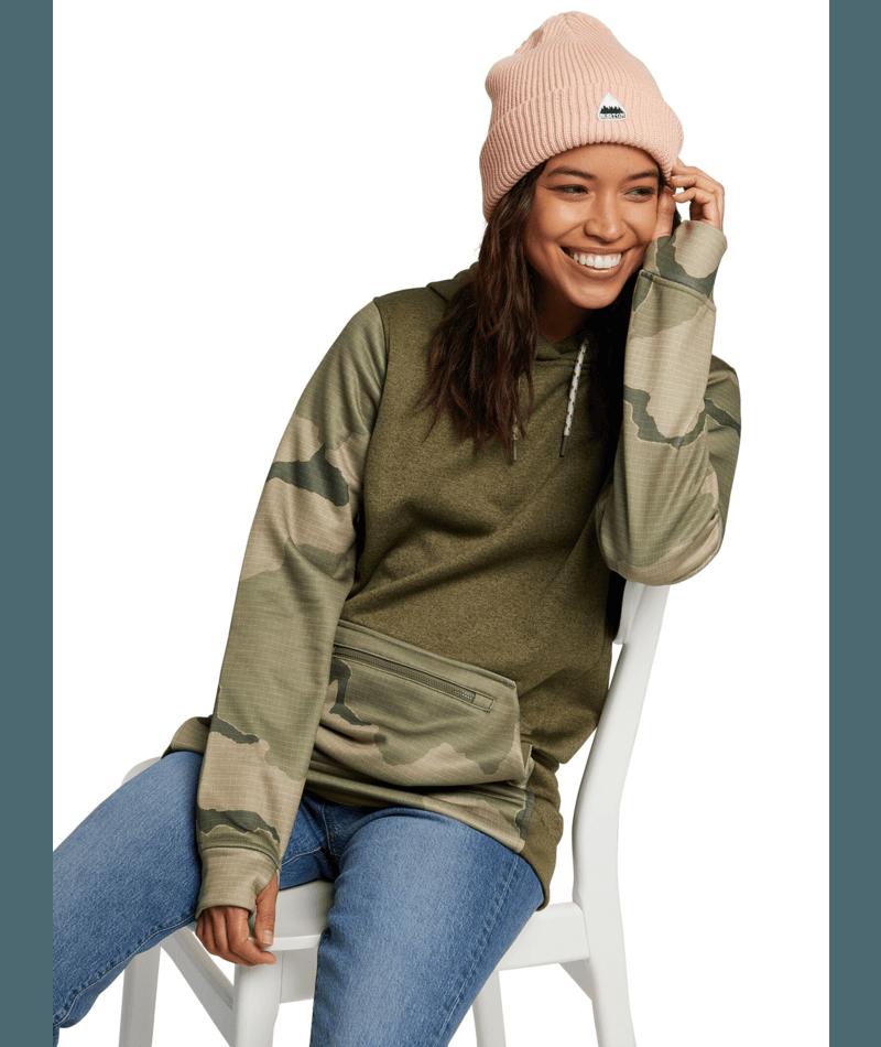 Women's Oak Long Pullover Hoodie-1