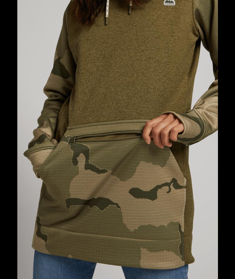 Women's Oak Long Pullover Hoodie-4