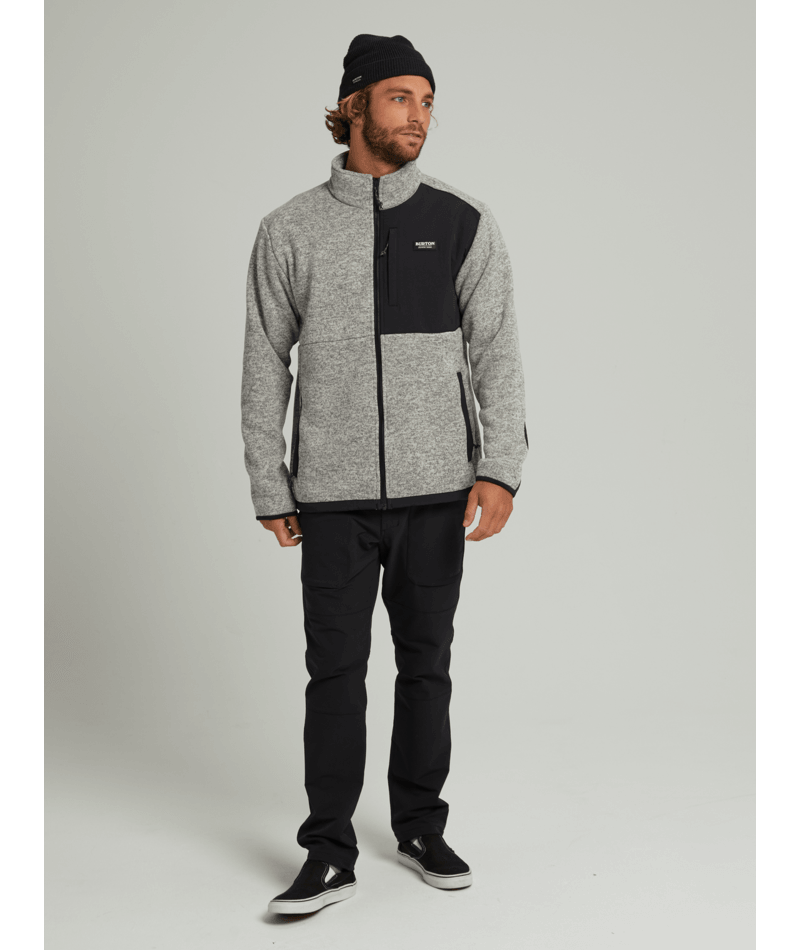 Men's Hayrider Sweater Full-Zip Fleece-2