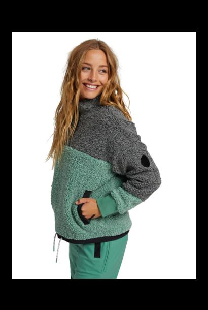 Women's Larosa Quarter-Zip Sherpa Fleece
