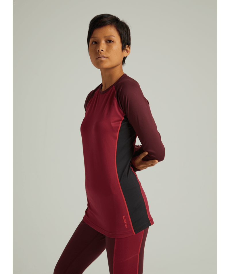 Women's Midweight X Base Layer Crew-1