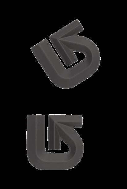 Aluminum Logo Stomp Pad