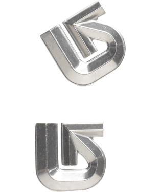 Aluminum Logo Stomp Pad-3