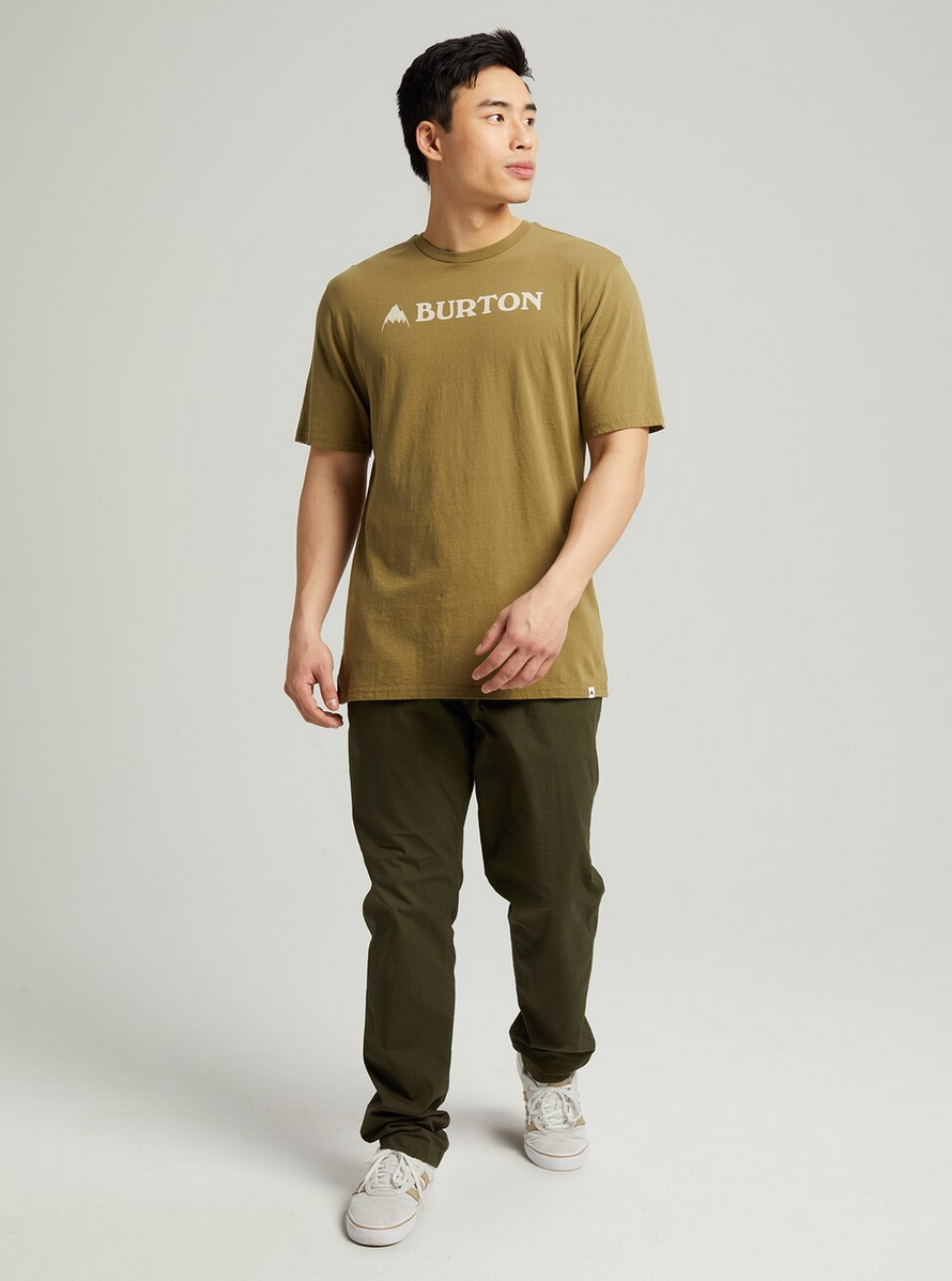 Horizontal Mountain Short Sleeve T-Shirt-1
