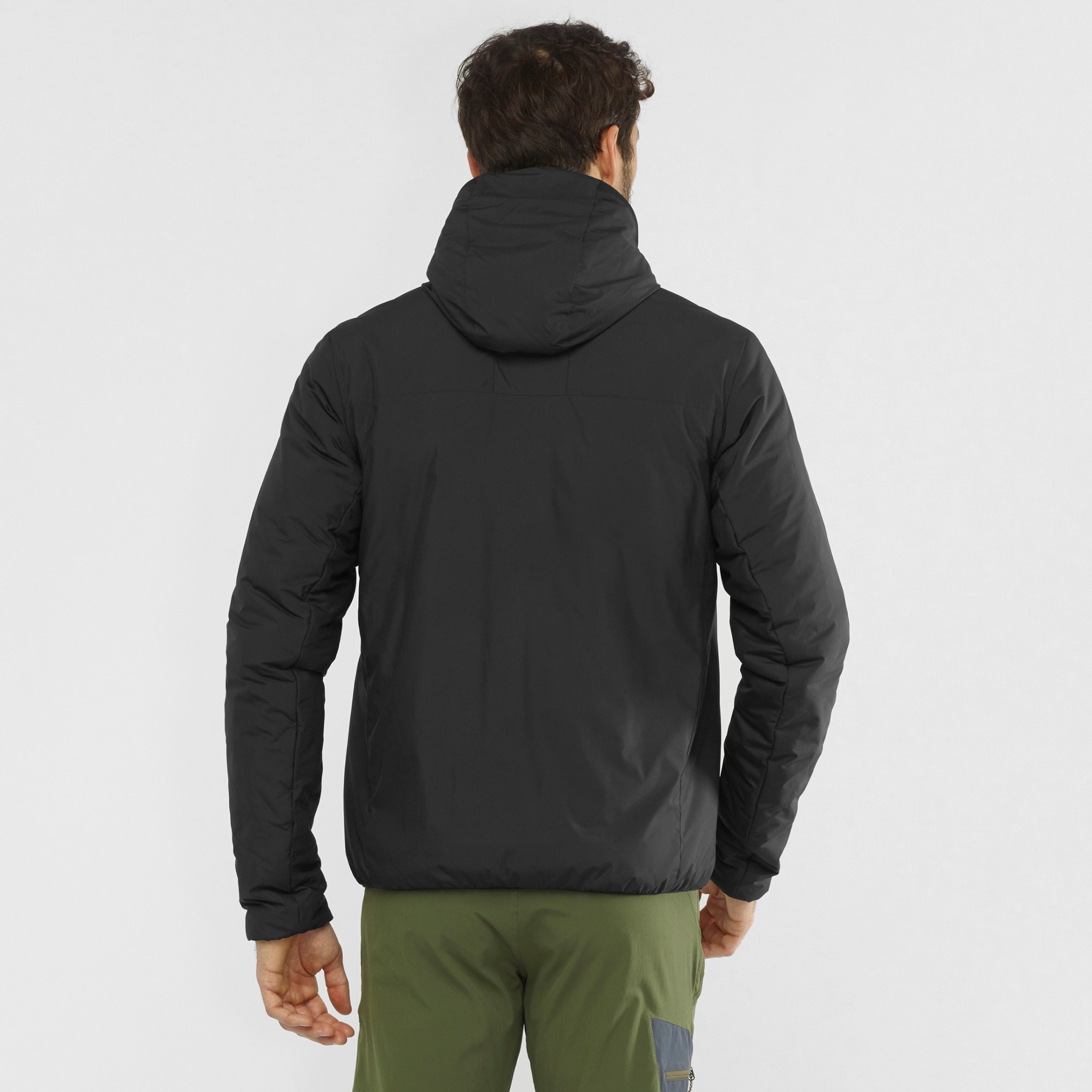 OUTRACK INSULATED HOODIE M-1