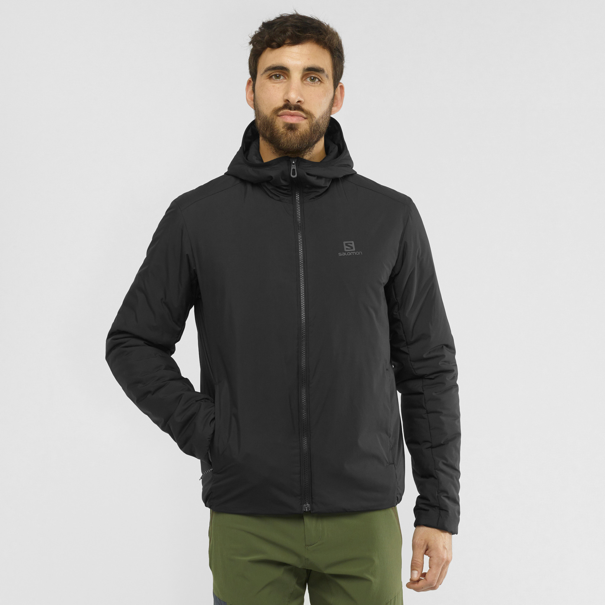 OUTRACK INSULATED HOODIE M-2