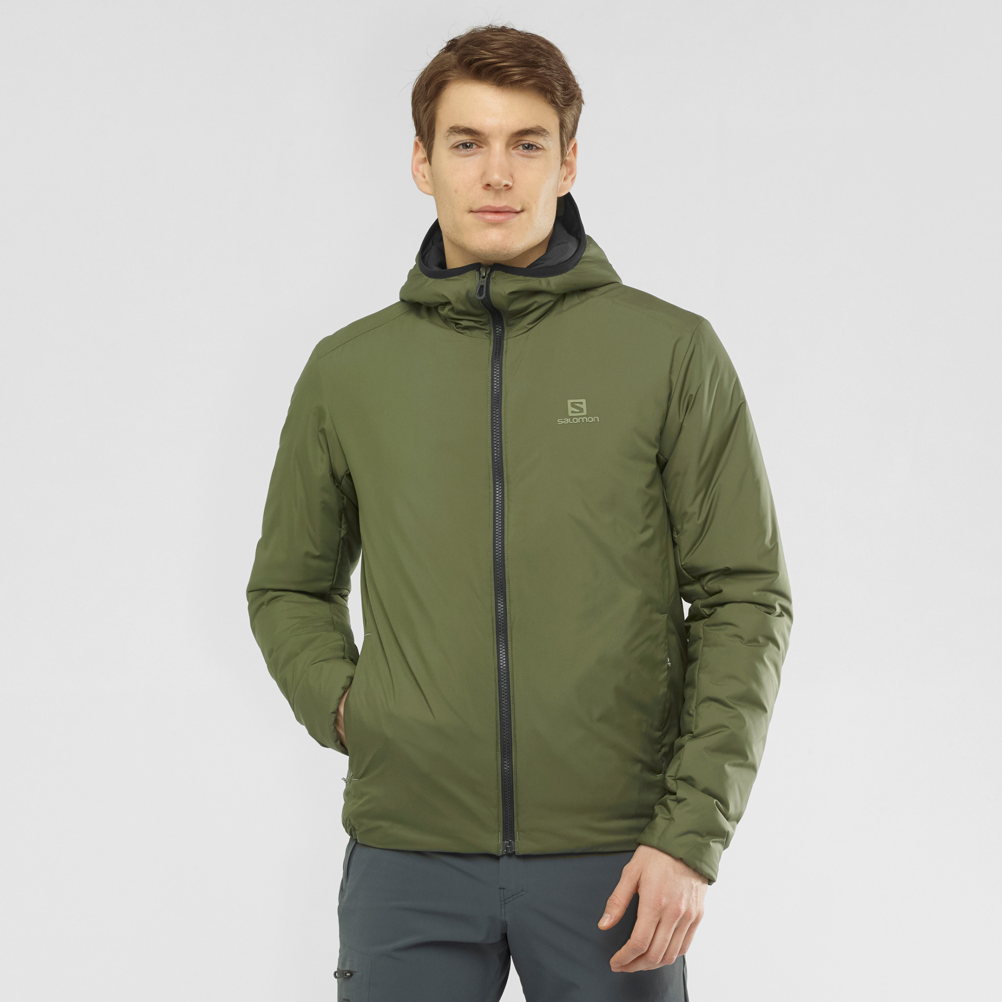 OUTRACK INSULATED HOODIE M-6