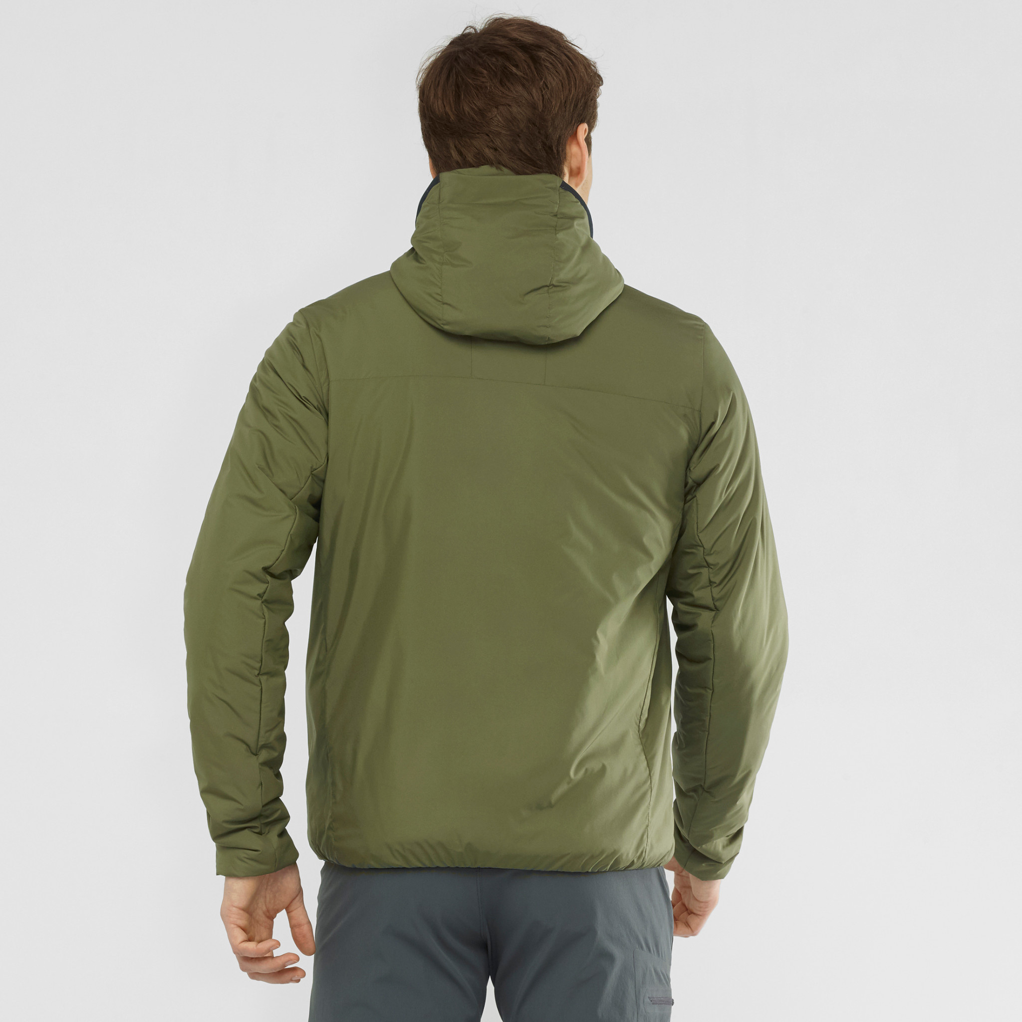 OUTRACK INSULATED HOODIE M-10