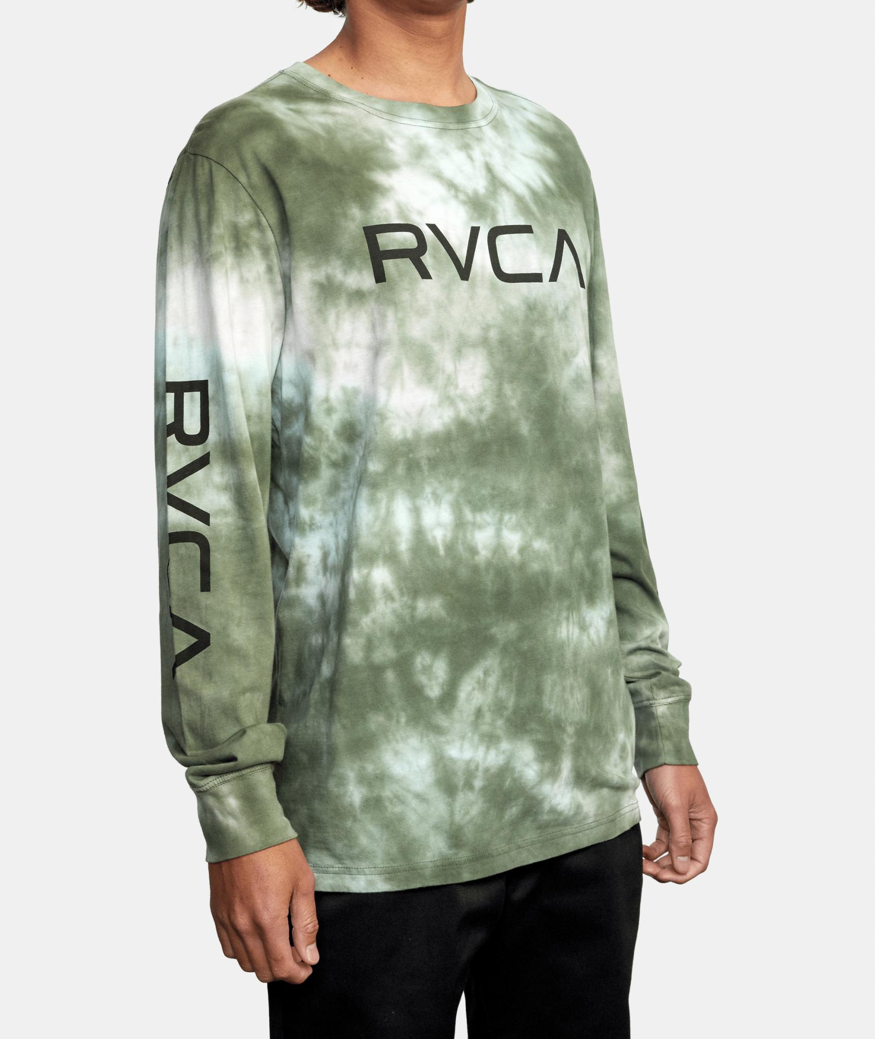 BIG RVCA TIE DYE LS-4