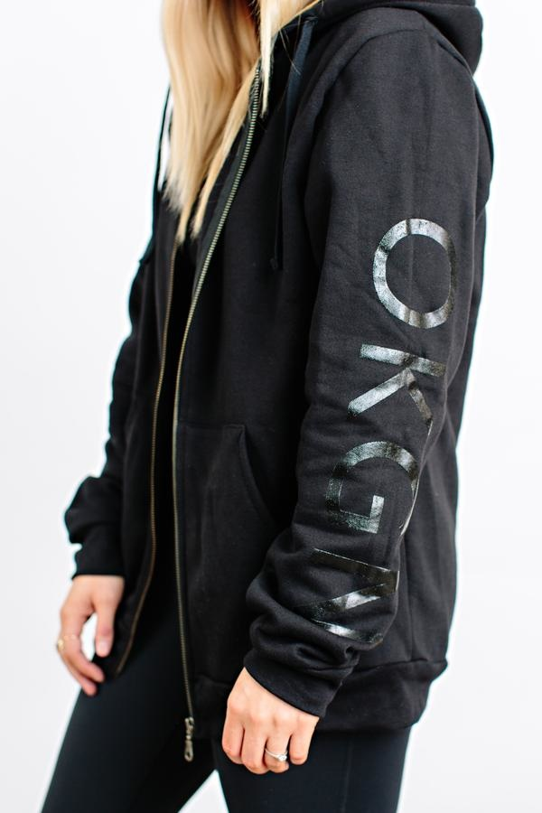 BLACKOUT ZIP-UP HOODIE-2