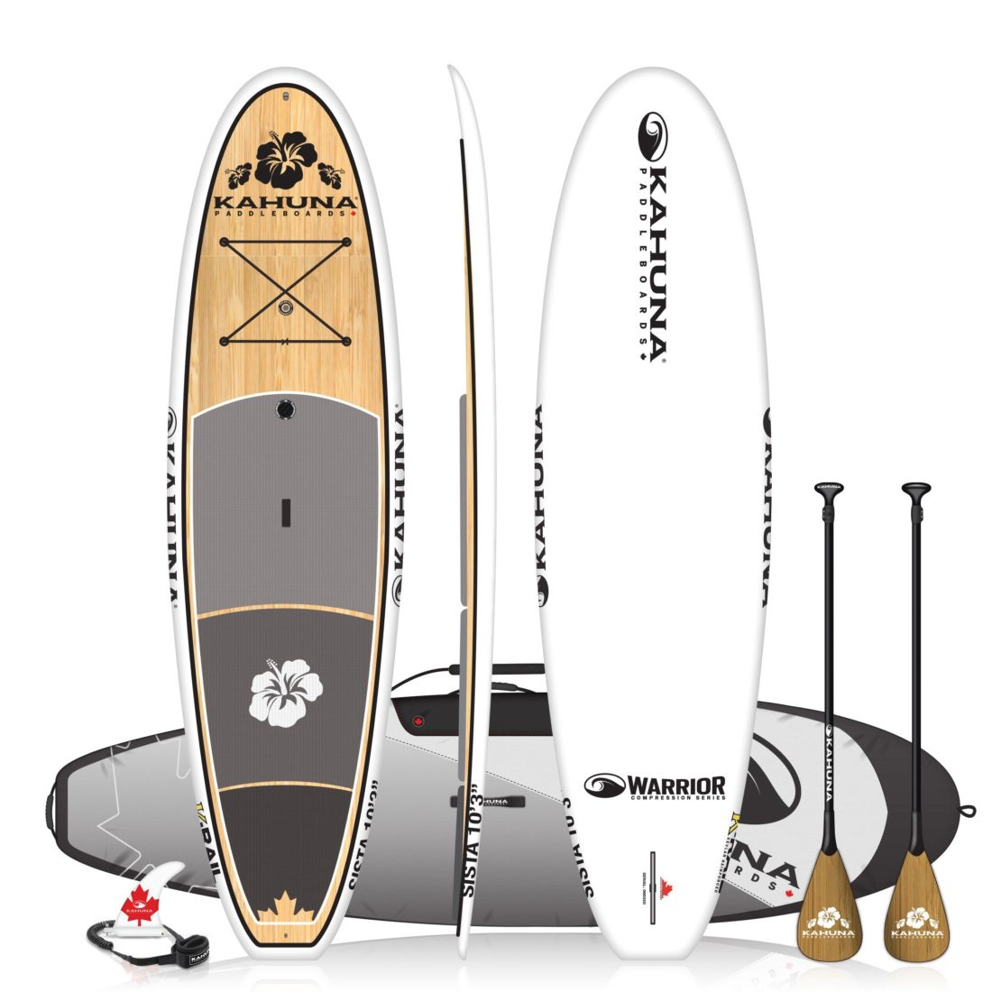 10'3 SISTA Warrior Bamboo-1