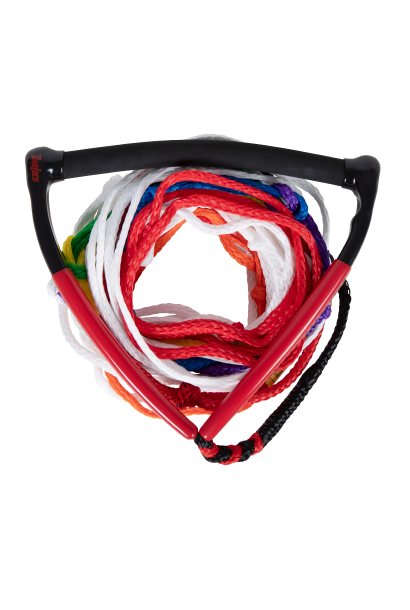Control Pkg Arc Handle w/8 Section Mainline Red/black