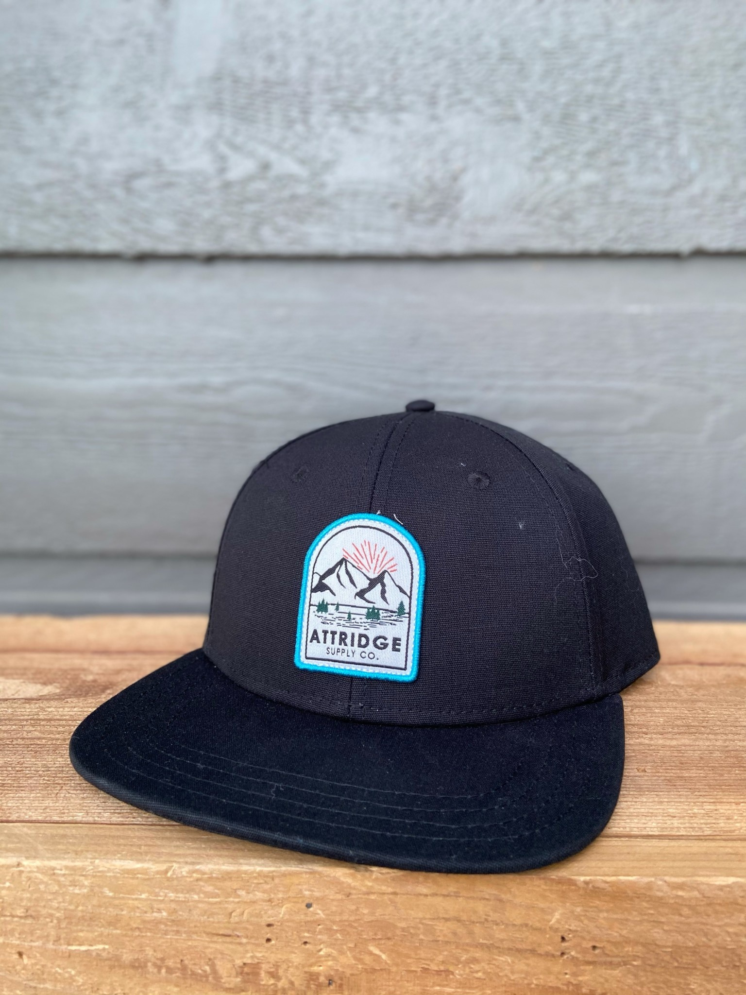 Attridge Mountain Patch Hat-2