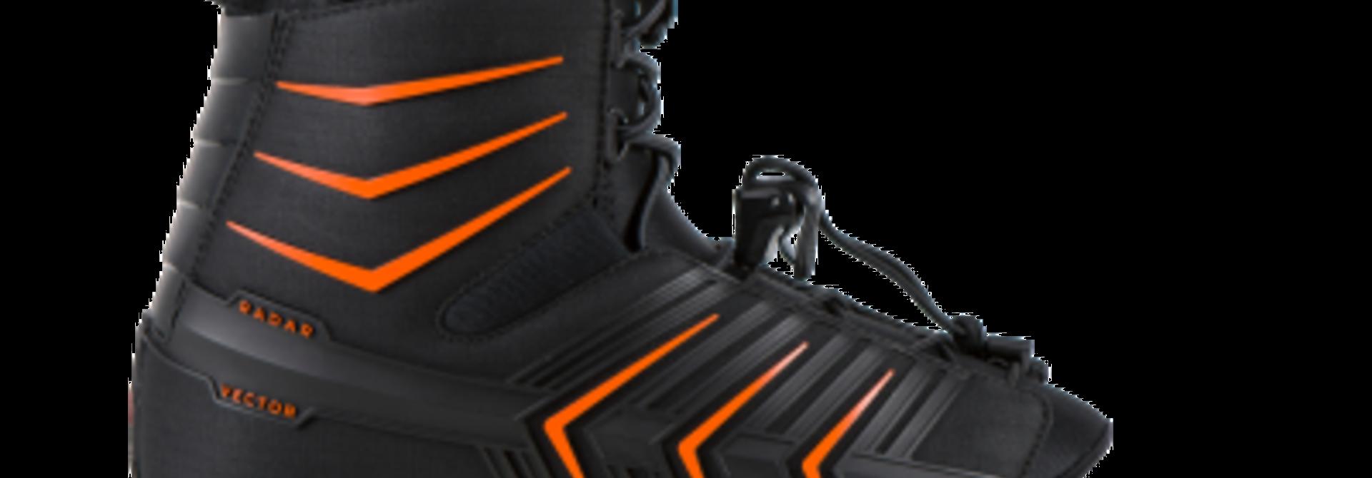 Vector Boot Feather Frame Black/Orange