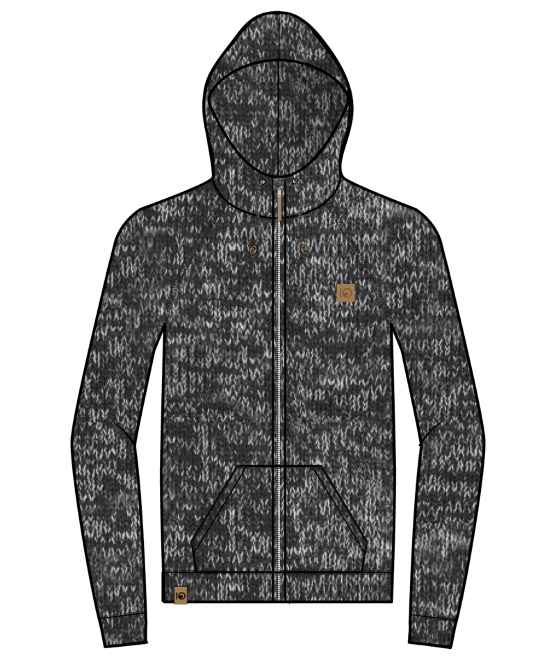 M Oberon Zip Hoodie-6