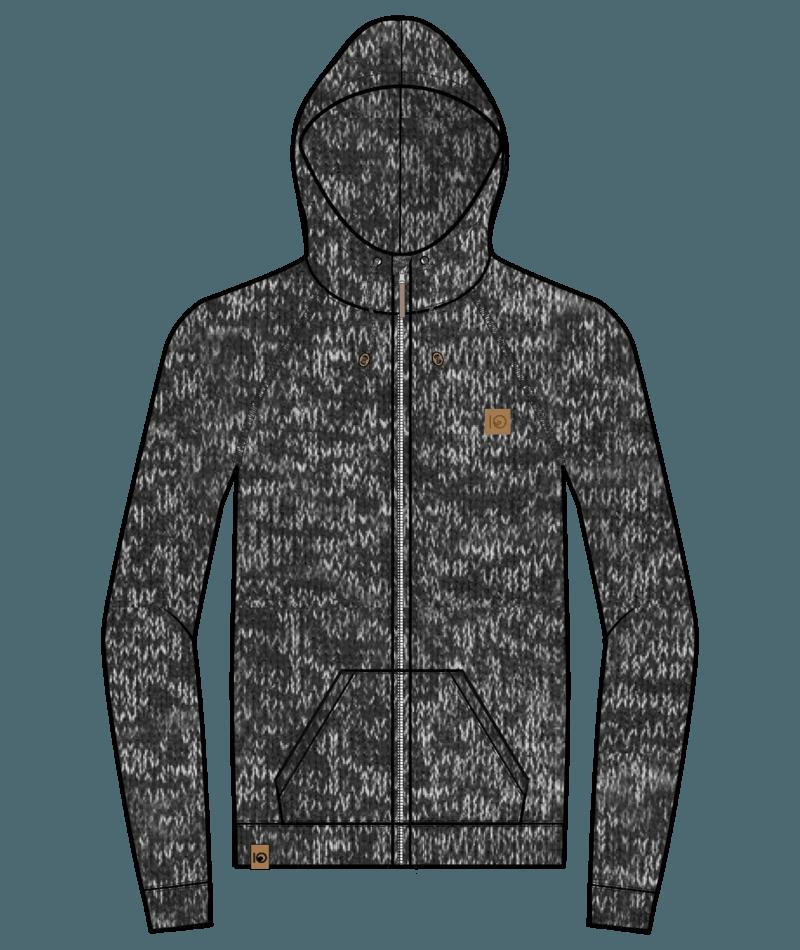 M Oberon Zip Hoodie-9