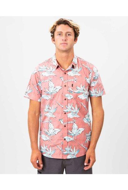 HAWAII FLORAL S/S SHIRT