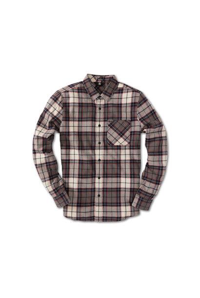 Caden Plaid Long Sleeve Flannel