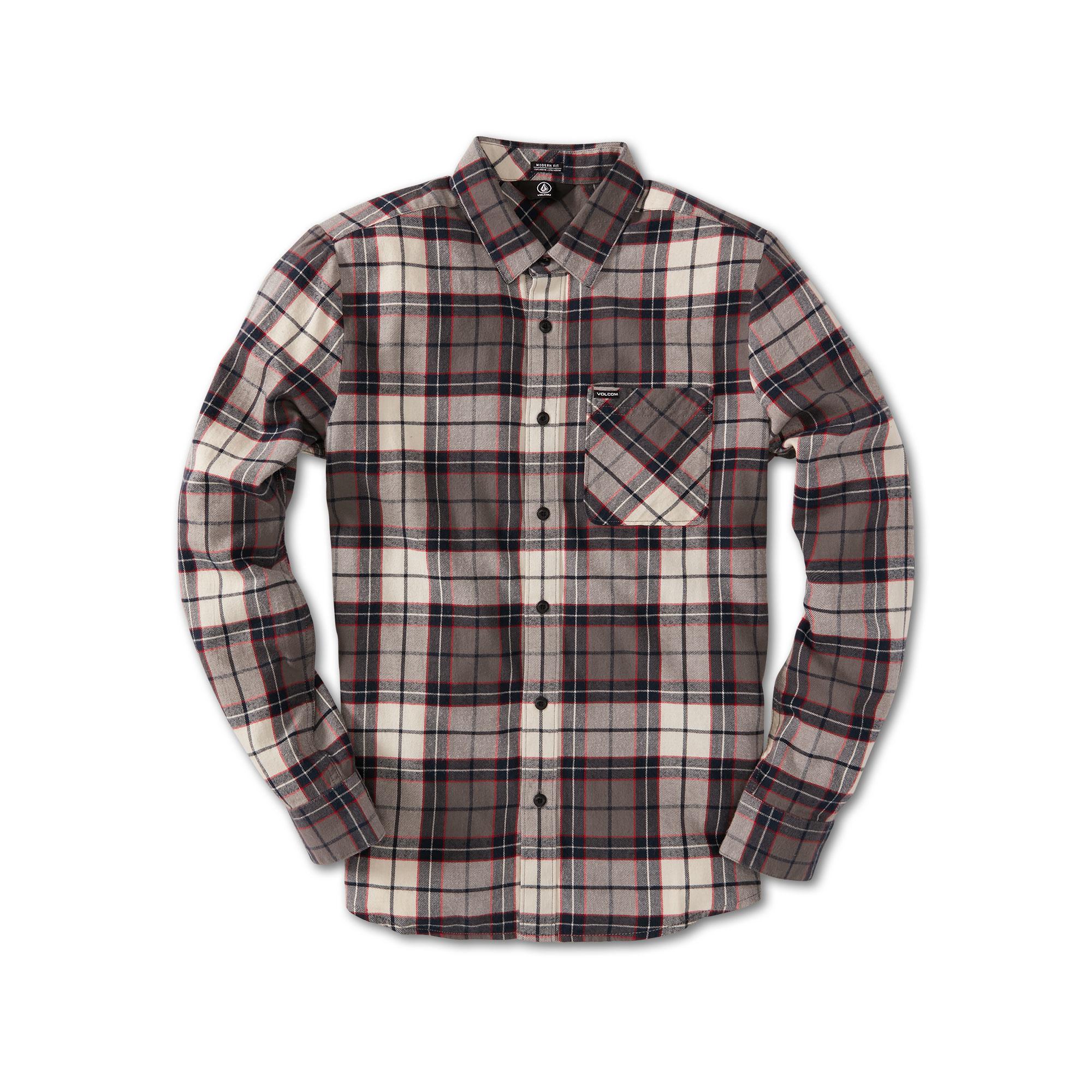 Caden Plaid Long Sleeve Flannel-1