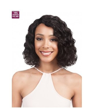 Bobbi Boss Bobbi Boss MHLF100 Missie 100% Human Hair Lace Front Wig