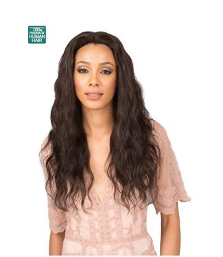 Bobbi Boss Bobbi Boss MHLF306 Melania 100% Human Hair Lace Front Wig