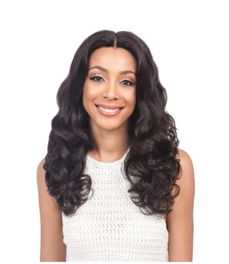 Bobbi Boss Bobbi Boss MHLF302 Hawa 100% Human Hair Lace Front Wig