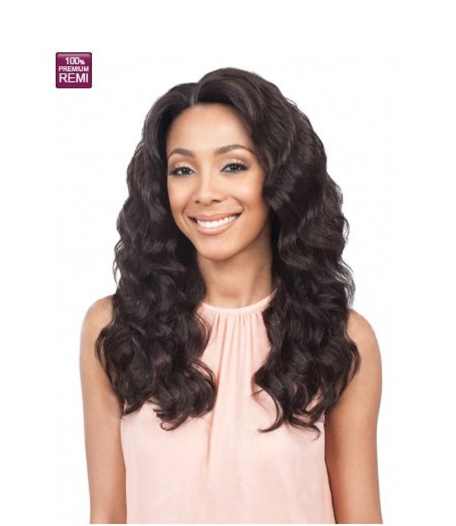 Bobbi Boss Bobbi Boss MHLF303 Monifa 100% Human Hair Lace Front Wig