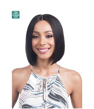 Bobbi Boss Bobbi Boss MHLF800 EMA 100% Human Hair Lace Front Wig