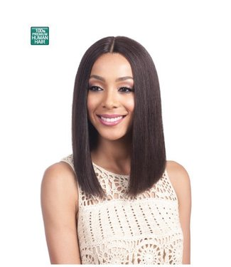 Bobbi Boss Bobbi Boss MHLF900 Binara 100% Human Hair Lace Front Wig