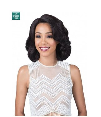 Bobbi Boss Bobbi Boss MHLF901 Carli 100% Human Hair Lace Front Wig
