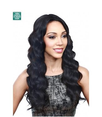 Bobbi Boss Bobbi Boss MHLF-R Stella 100% Human Hair Lace Front Wig