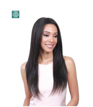 Bobbi Boss Bobbi Boss MHLF-S Valerie 100% Human Hair Lace Front Wig