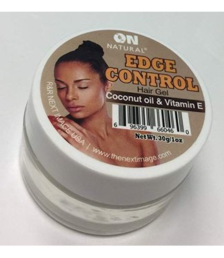 ON Natural Edge Control Coconut Oil & Vitamin E Hair Gel 1OZ