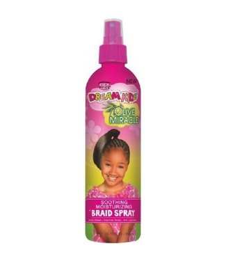 African Pride African Pride Dream Kids Olive Miracle Braid Spray 12OZ