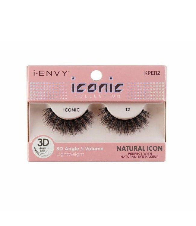 Ruby Kiss i Envy Iconic Lashes KPEI12