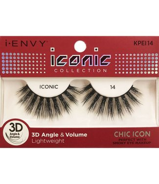 Ruby Kiss i Envy Iconic Lashes KPEI14