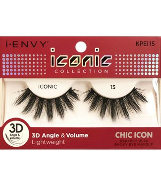 Ruby Kiss i Envy Iconic Lashes KPEI15