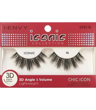 Ruby Kiss i Envy Iconic Lashes KPEI16