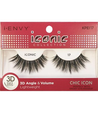 Ruby Kiss i Envy Iconic Lashes KPEI17
