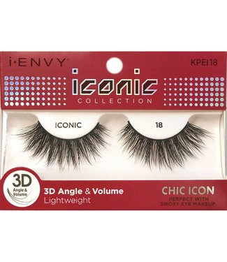 Ruby Kiss i Envy Iconic Lashes KPEI18