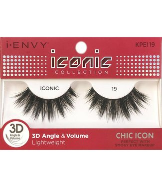 Ruby Kiss i Envy Iconic Lashes KPEI19
