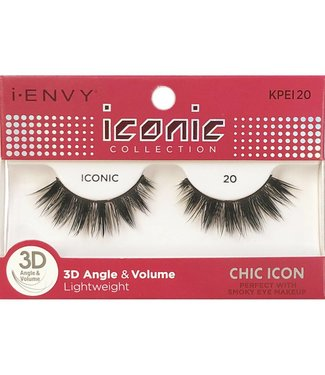 Ruby Kiss i Envy Iconic Lashes KPEI20