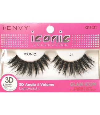 Ruby Kiss i Envy Iconic Lashes KPEI21